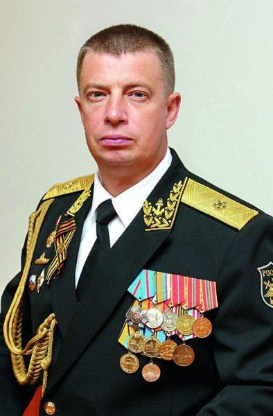 Контр-адмирал Вячеслав РОДИОНОВ.