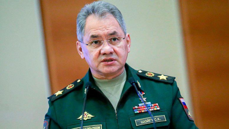 Министр обороны России генерал армии Сергей Шойгу. Фото: duma.gov.ru