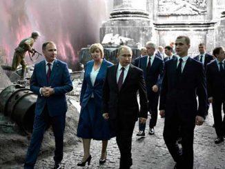 В Музее Победы на Поклонной горе. Фото с сайта президента РФ