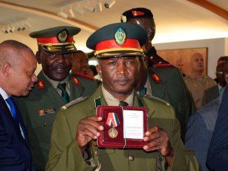В Музее военной истории Анголы