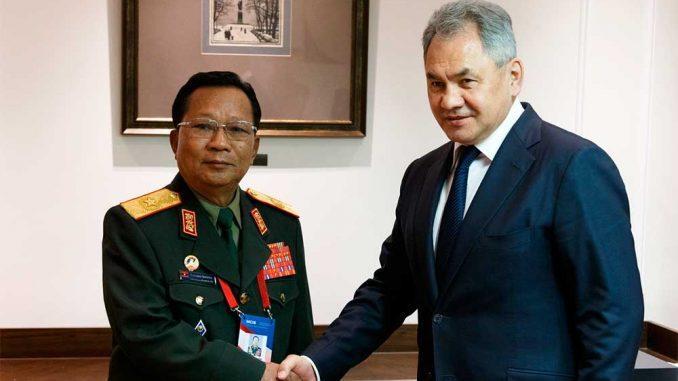 Министр обороны РФ поблагодарил своего коллегу из Лаоса за передачу в дар Российской Армии 30 танков Т-34