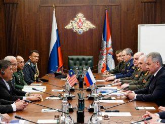 Переговоры глав военных ведомств России и Малайзии