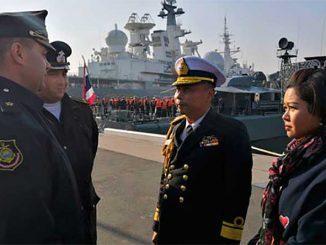 Корабли Тихоокеанского флота и ВМС Таиланда провели совместные тренировки в Японском море