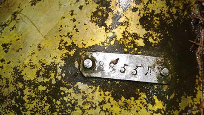 Фрагменты советского самолета ТБ-3 времен войны найдены в охотхозяйстве «Воинское» в Подмосковье
