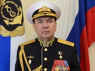 Командующий Черноморским флотом вице-адмирал Александр Моисеев поздравил личный состав флота и ветеранов с Днем Победы