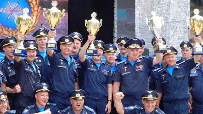 Всеармейский этап конкурса лётного мастерства завершился в Крыму.