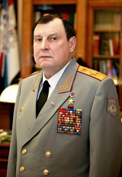 Генерал армии Дмитрий БУЛГАКОВ.