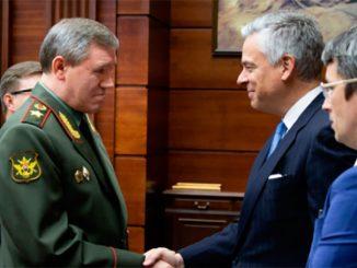 Начальник российского Генштаба обсудил с послом США вопросы стратегической стабильности