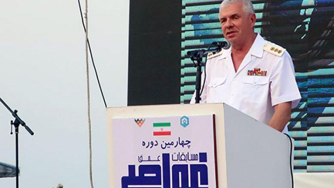 Заместитель главнокомандующего Военно-Морским Флотом России адмирал Александр Витко