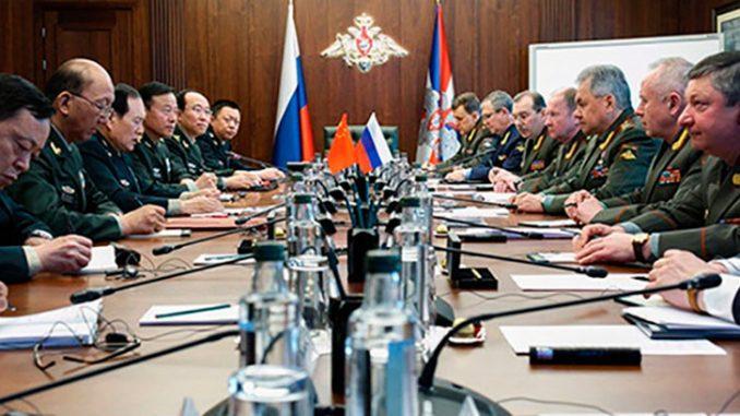 Военные ведомства России и Китая разработали План сотрудничества на 2020–2021 годы