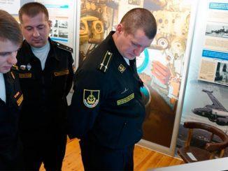 В гарнизоне Северного флота Полярном открыта экспозиция, посвящённая истории 4 эскадры подводных лодок