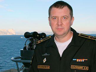 Капитан 1 ранга Андрей Салошин