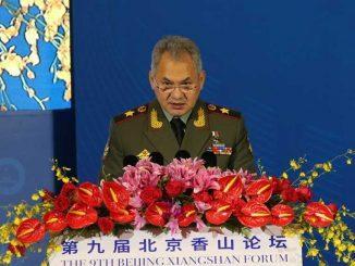 Министр обороны Российской Федерации генерал армии Сергей Шойгу