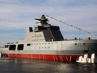 Патрульный корабль ледового класса «Иван Папанин»
