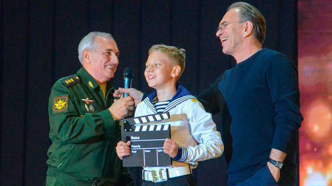 Церемония закрытия IV Всеармейского кинофестиваля «Кадетский взгляд-2019» (г. Севастополь)