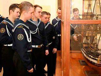 Главное командование ВМФ примет участие в открытии выставки ко Дню памяти Святого праведного воина Феодора Ушакова в Центральном военно-морском музее