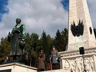 В Словакии прошли мероприятия, посвященные 75-й годовщине начала Карпатско-Дуклинской операции Великой Отечественной войны