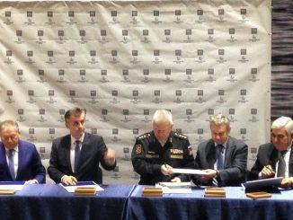 Главком ВМФ принял участие в закладке для Военно-Морского Флота двух подводных лодок проекта 636.3 «Уфа» и «Магадан».