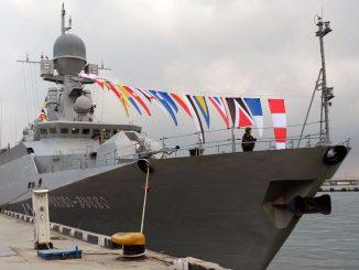 В Ялте прошла военно-патриотическая акция Черноморского флота «Нет выше чести Родине служить!»