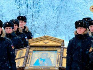 Главная икона ВМФ России прибыла в Поморье