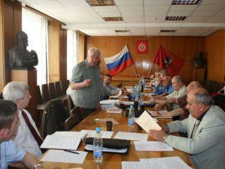 Одно из последних заседаний под руководством М.А. Гареева.