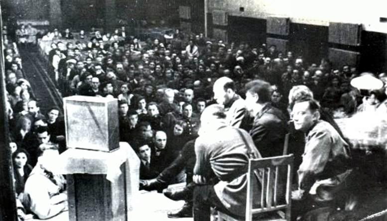 Трансляция выступления Верховного Главнокомандующего И.В. Сталина (1941 г.).