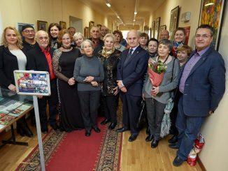 В Центральном Доме Российской Армии открылась выставка картин «Живопись на два голоса»
