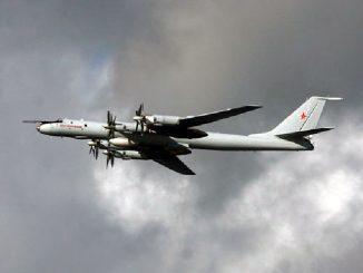 Экипажи противолодочных самолетов Ту-142 Северного флота выполнили плановый полет в дальнюю океанскую зону