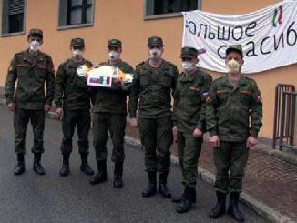 Российские военные специалисты 30 марта провели полную дезинфекцию трёх лечебных учреждениях области Ломбардия