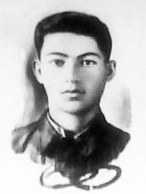 Гвардии красноармеец Армаис ДАНИЛЬЯН.