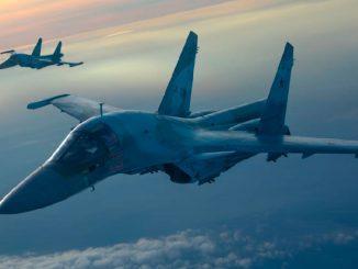 Оперативно-тактическая авиация ЗВО отработала самый сложный элемент боевой подготовки в небе над Воронежской областью