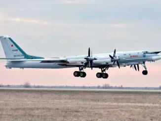 Экипажи дальней авиации приступили к сдаче контрольных занятий за зимний период обучения