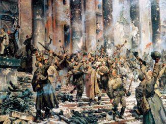 Картина П. Кривоногова «Победа» (1948).