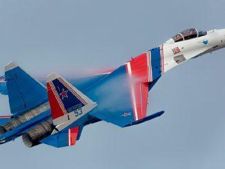 К 29-летию пилотажной группы «Русские витязи»