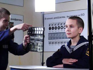 Нахимовцы самостоятельно выпускают еженедельную телевизионную программу «Новости НВМУ»