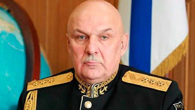 Командующий ТОФ адмирал Сергей Авакянц