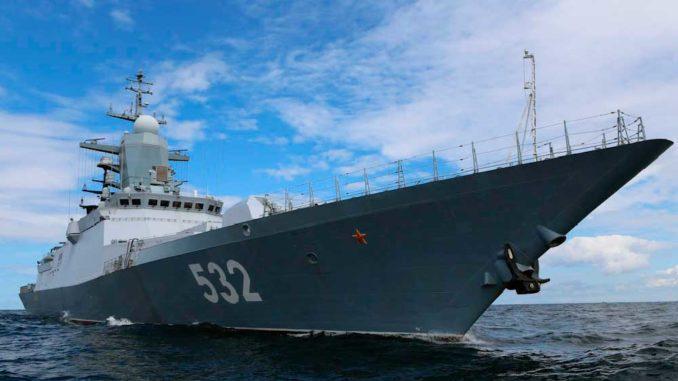 Балтийский флот отмечает 317-ю годовщину со дня основания