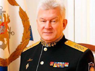 Главком ВМФ России Адмирал Николай Евменов поздравил моряков-балтийцев с Днем Балтийского флота