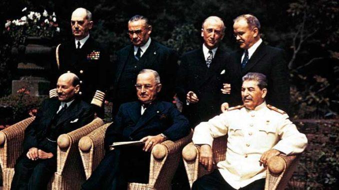 Потсдамская конференция руководителей СССР, США и Англии