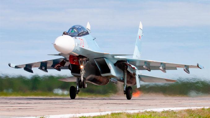 Летное тактическое учение экипажей оперативно-тактической авиации ЗВО
