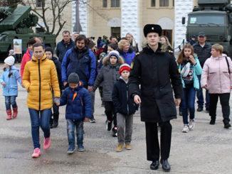 В Севастополе в Черноморском высшем военно-морском училище им. П.С. Нахимова прошел День открытых дверей