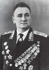 Маршал Советского Союза Гречко Андрей Антонович в парадном мундире. 1960 г.