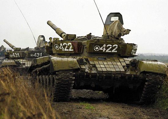 В 20-ю общевойсковую армию ЗВО поставлено более 150 модернизированных танков Т-72Б3